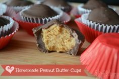 Easy Homemade Peanut Butter Cups Recipe