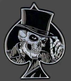 Skull of Spade