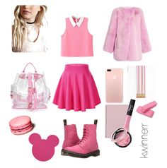 """""""third"""" by kwinnerr on Polyvore featuring Gucci, Dr. Martens, WithChic, NARS Cosmetics and Ethan Allen"""