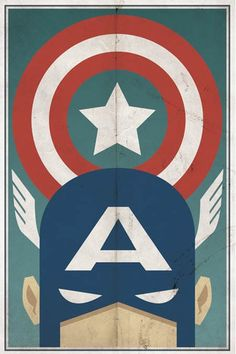 Vintage Super hero inspiration