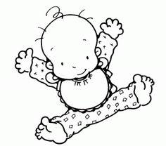 Imagenes De Bebes Para Colorear Súper Divertidas bonitas