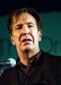 I ♥ Alan Rickman † — karthaeuser65: Alan speaking at The Apollo...