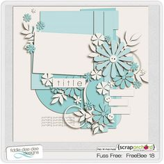 "Scrap Orchard's ""Template Thursday"" offers wonderful, intricate free templates"