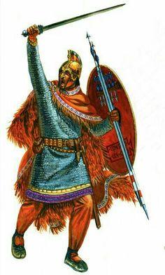 centurion of a legio palatina Military Diorama, Military Art, Military History, Anglo Saxon History, Old Warrior, Roman Legion, Germanic Tribes, Roman Era, Early Middle Ages
