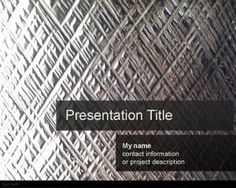 Download Free Silverish PowerPoint Template is a free metal background for PowerPoint presentations that you can download to make awesome slide designs