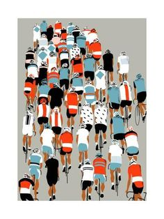 Peloton, 2013 Giclee Print by Eliza Southwood at Art.com