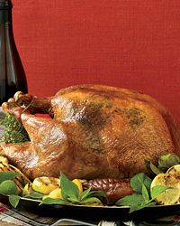 Roast Turkey with Lemon and Chives