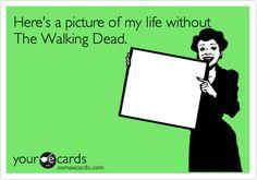 I love the walking dead soooooooo much!!!
