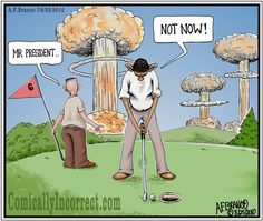 Nukes to Iran? Not now, I'm putting.