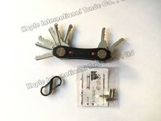 Key Ninja Aluminum Fashion Key Holder Wallet Clip Organizer Pocket Dual LED… Key Holder Wallet, Key Organizer, Dns, Ninja, Organization, Pocket, Fashion, Getting Organized, Moda