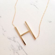Hey, I found this really awesome Etsy listing at https://www.etsy.com/listing/496879683/same-day-shipping-large-initial-necklace