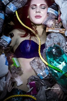Pollution Disney Princesses Face Real-Life Problems Like Drugs And Rape In Powerful Photo Series By Shannon Dermody
