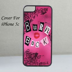 The Burn Book Mean Girls For iPhone 5c Case | whidcases - Accessories on ArtFire
