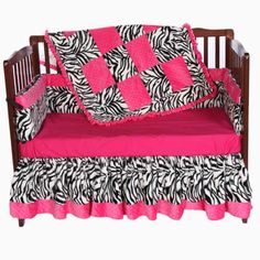 Baby Furniture & Bedding Minky Zebra Crib Bedding
