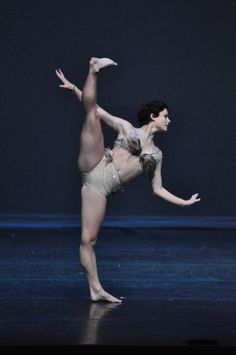 Melanie Moore - SYTYCD finalist.  She dances like she has no bones and her feet never touch the floor.