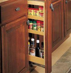 Clean-up Zone - Kitchen - Storage Accessories - Merillat | Cabinet ...