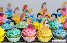 17 prachtige Disney prinsessen cupcakes