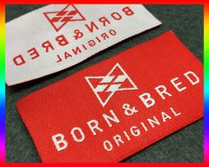 500 woven labels, Custom woven clothing labels,custom clothing label, Woven label for Text Only Clothing Labels  This listing price only up to 1x2 and