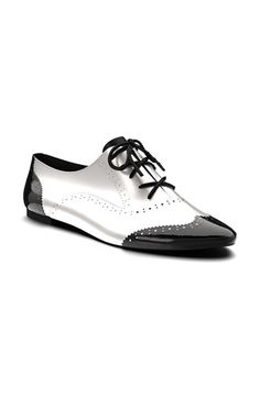 Custom made Shoes of Prey Leather Brogue Oxford (Women) available at #Nordstrom