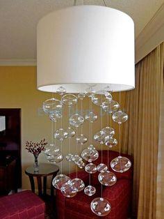 Glass Bubble Chandeliers