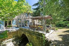 #Sale #CannesBackcountry #StoneBastide #Mil #Authenticity #LuxuryRealEstate #FrenchRiviera Michaël Zingraf Real Estate Christie's brings to you an authentic XVIth century stone Mill, alongside stream, nestled in lusch greenery on 9000 sqm of grounds and garden. Renovated in character. Pool, vast fish pond, boules ground, herbal plot, bridge terrace over the stream. Full story here:  http://www.michaelzingraf.com/en/frenchriviera/opio/le-rouret/Sale-Villa-Le-Rouret-06650