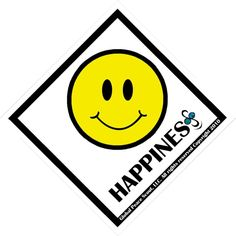 HAPPINESS Peace Badge | Global Peace Scout | $2.99