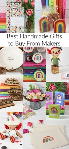 Best Handmade Gifts to Buy From Makers - Laura Kelly's Inklings #handmadegifts #besthandmadefgifts Handmade Gifts For Him, Diy Gifts, Handmade Items, Handmade Cards, Creative Crafts, Fun Crafts, Amazing Crafts, Gift Maker, Etsy Shop Names