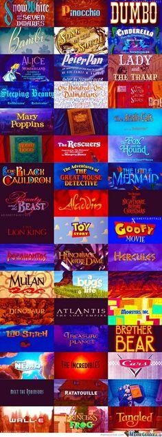 Disney Animations