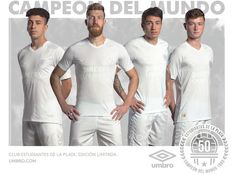 Whiteout Umbro Estudiantes Kit to Celebrate 50th Anniversary of Intercontinental  Cup - Footy Headlines White Out d661dcad97683