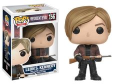 Resident Evil - Leon S. Kennedy (156) - Pop! Video Games action figure