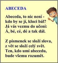 Cvičení se slabikami k jednotlivým písmenům abecedy – Testing British Humor, School Humor, Infant Activities, Jaba, Kids Education, School Projects, Funny Kids, Kids And Parenting, Montessori