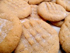: Easy Peasy Peanut Butter Cookies