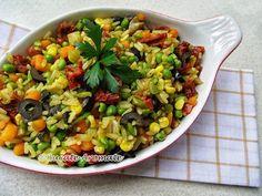 orez cu legume Healthy Lifestyle, Bob, Salads, Bob Cuts, Healthy Living, Bob Sleigh, Bobs