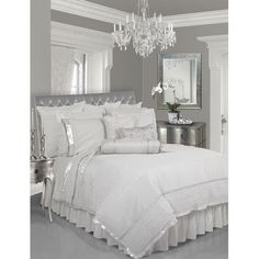 white and silver bedroom  | Silver & White Bedroom beautiful-design