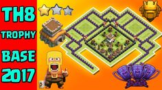 TH8 Trophy Base 2017 With New Update. New TH8 (Town Hall 8) best trophy pushing base 2017. Clash of clans new th8 trophy/defense/titan base 2017.     How To Help My Channel?   Subscribe This Channel: https://www.youtube.com/channel/UCIl3Iho_kXesGZGqG_ITztA?sub_confirmatoin=1  Like This Video  Share This Video On Social Media  Add This Video in Watch Later List  Turn On Send me All Notifications For This Channel    Whats On This Episode?  Welcome to another new episode of clash of clans base…