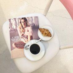 Buongiorno fra Milano hvor ELLE's udsendte netop er stået op til et nyt magasin med @carolinewozniackii på forsiden warm kaffe og croissaint inden dagens første show  #detbliverengoddag #mfw @mie_juel @johannebrostroem  via ELLE DENMARK MAGAZINE OFFICIAL INSTAGRAM - Fashion Campaigns  Haute Couture  Advertising  Editorial Photography  Magazine Cover Designs  Supermodels  Runway Models