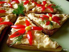 Smaczna Pyza: Pasta z jajek i kukurydzy
