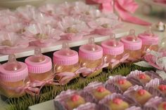 """Photo 3 of DollHouse / Baby Shower/Sip See """"Waiting for Anna Beatriz"""" Shower Party, Baby Shower Parties, Baby Shower Themes, Shower Ideas, Baby Shower Gift Bags, Personalized Baby Shower Favors, Bebe Shower, Girl Shower, Shower Inspiration"""