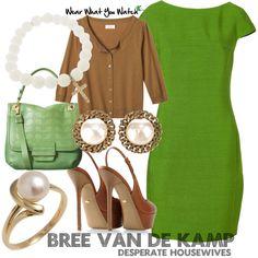 Inspired by Desperate Housewives character Bree Van de Kamp, played by Marcia Cross.
