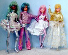 Mattel 1987 Spectra doll gang