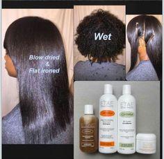 Natural Hair Products Caramel Treatment