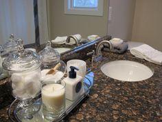 White And Grey Bathroom Decor