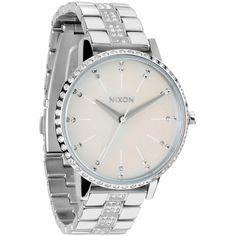 Nixon Kensington Crystal Analog Watch
