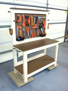 Play workbench for the Little Handy Man.