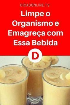 Suco limpar organismo | Bebida da banana que queimará a gordura da barriga imediatamente | Esta Receita é Fácil e os Resultados são Incríveis