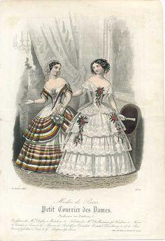 1850 Petit Courrier des Dames