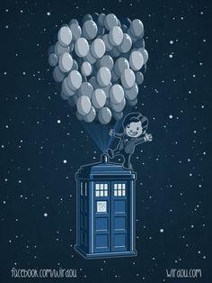 Doctor Who / UP mashup