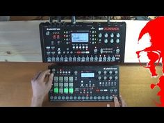Deep House Techno Live session(Elektron Analog Rytm OS 1.30D and Octatrack OS 1.25H)[Full HD] - YouTube
