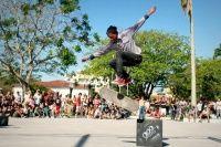 Skatista Diego André de 16 Anos de Araruama no Rio de Janeiro com a sua foto com a trick 360 flip imagem feita no Campeonato 900 Graus