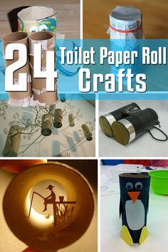 24 Toilet Paper Roll Crafts | 99Crafting